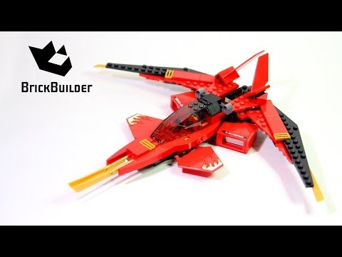 Lego Ninjago 70721 Kai Fighter For Collecrors Collection Spinjitzu 35 46 Youtube