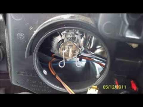 Peugeot 407 Lampen Vervangen Youtube