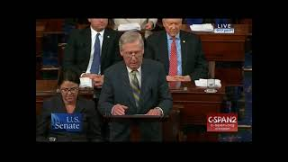 """Sen McConnell: Dems Shut Down Government For """"Irresponsible Political Games"""""""