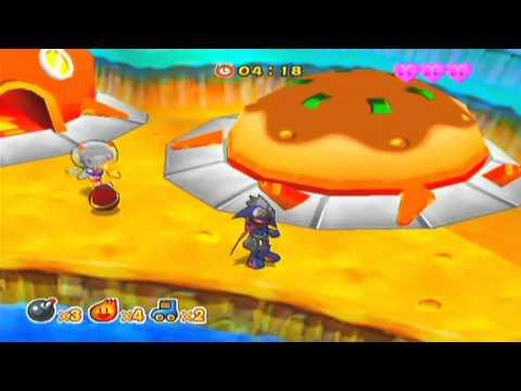 Bomberman Jetters Game Sample  GameCube