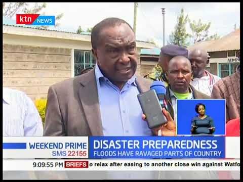 Rongai Mp, Raymond Moi, challenges county governments to be more prepared for natural disasters
