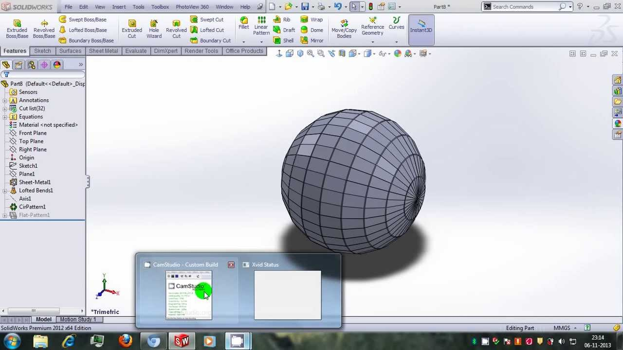 Sheetmetal Sphere Youtube