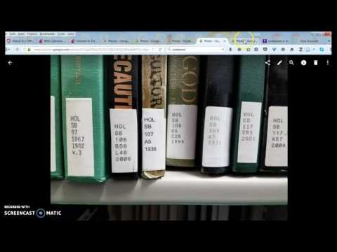 Getting to your book in the Holland & Terrell Libraries