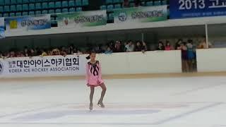 아이니의 1급 발표회 ^♡^ 목동아이스링크