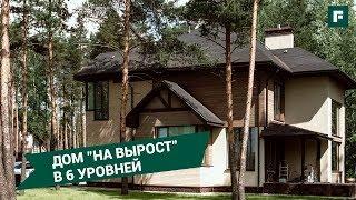 Дом со сложным конструктивом: обзор решений, проблем в строительстве вентфасада