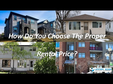 How to Set the Rental Price in a Rental Property