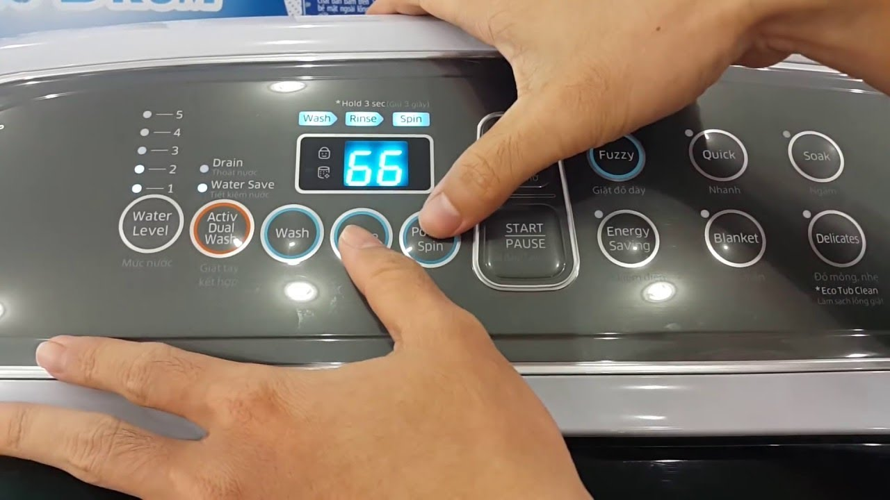 Hướng Dẫn Sử Dụng Máy Giặt Samsung Cửa Trên Chi Tiết
