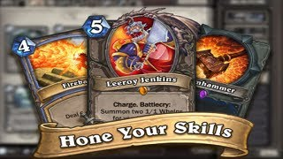 HearthStone - Wonderfully Robust Card Battler - Duel Epic Heroes - Tutorials Game Part 2