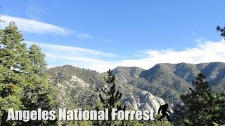 Exploring Angeles National Forest - Hiking Los Angeles (hd)