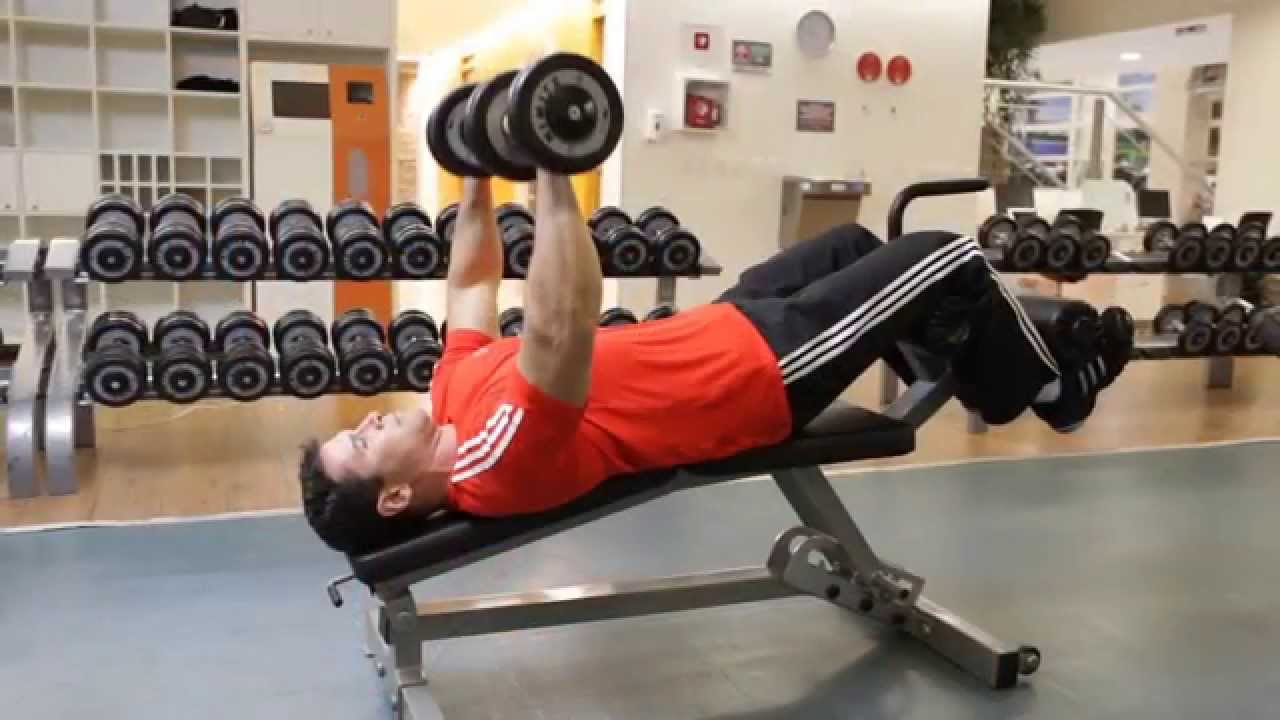 5 exercises for the lower chest
