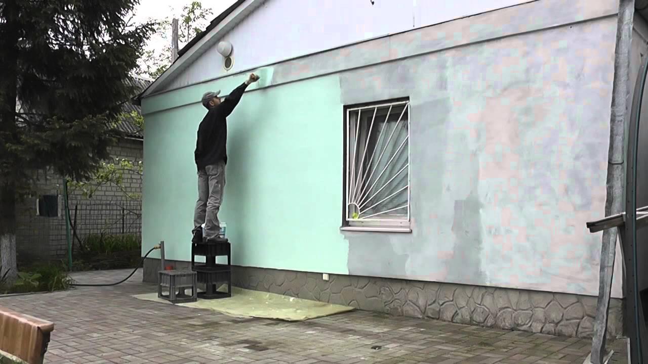 как покрасить дом снаружи дизайн фото 2