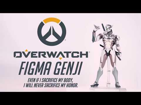 グッスマ「figma オーバーウォッチ ゲンジ 可動フィギュア」が予約開始!刀や脇差し、エフェクト付きの手裏剣が付属! hqdefault