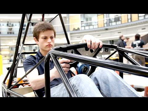 UM-Dearborn Students 3D Print Parts for Electric Car with EnvisionTEC