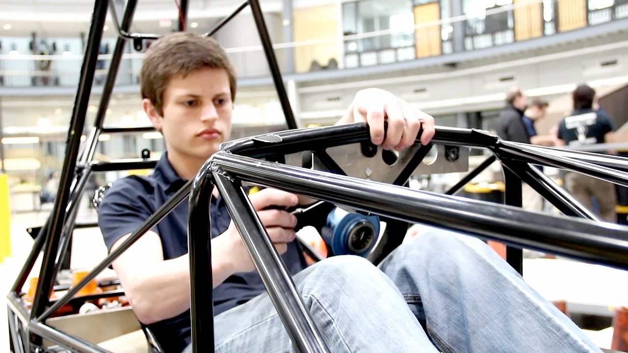 U of M Students 3D Print Parts for Electric Car with EnvisionTEC