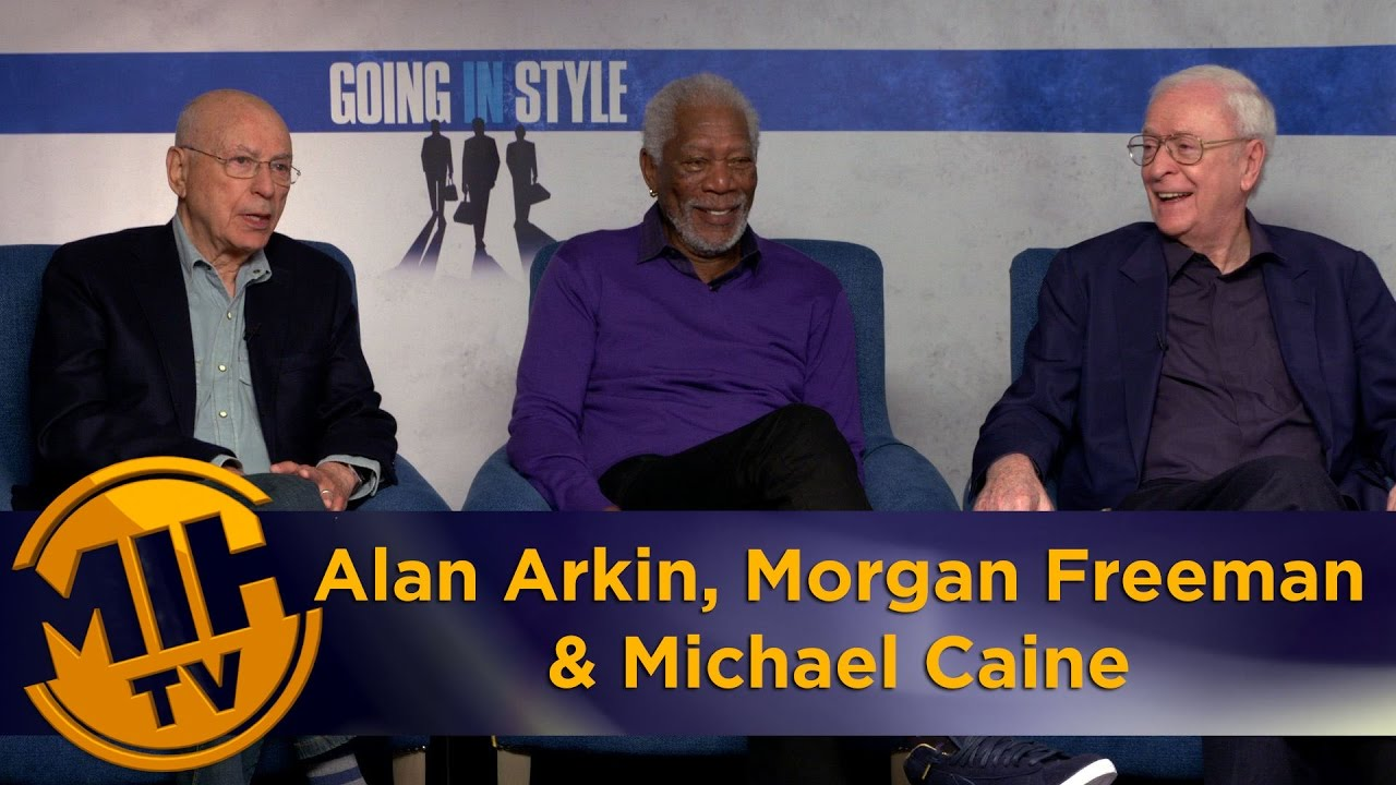 alan arkin morgan man michael caine going in style alan arkin morgan man michael caine going in style interview