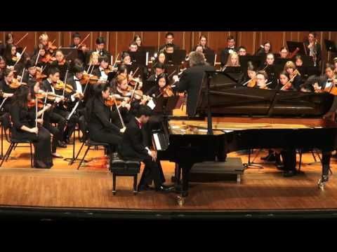 Andrew Li plays Grieg Concerto with NEC Youth Symphony