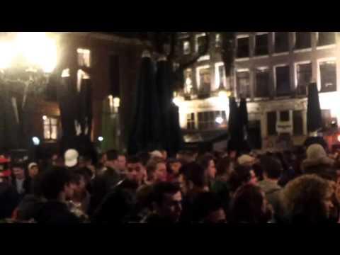 Ajax kampioen 2012 // Feest Leidseplein!