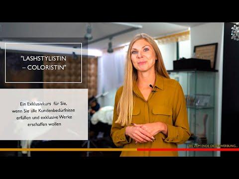 """Exklusivkurs """"Lashstylistin - Koloristin"""" video"""