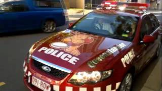 Queenslander Police Car debut at State of Origin 2011