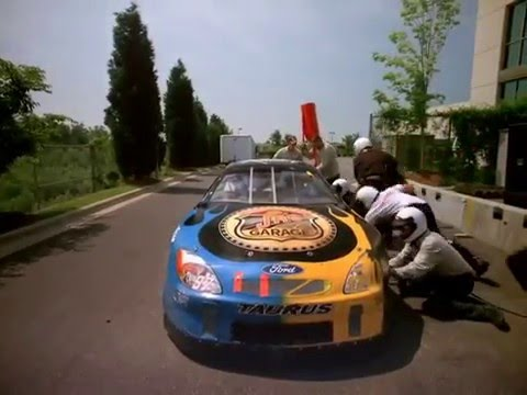 NASCAR IMAX 3D Pit Stop Sequence