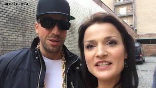 """Maria Mia beim """"Frauenarzt"""" Musikvideodreh Backstage"""