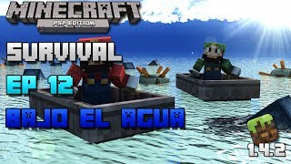 Minecraft PSP | Survival | Episodio 12 | Bajo el agua | Loquendo | HD | luigi2498