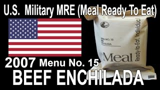 2007 U.S. Military MRE (Meal Ready To Eat) - WHAT ARE WE EATING?? - The Wolfe Pit