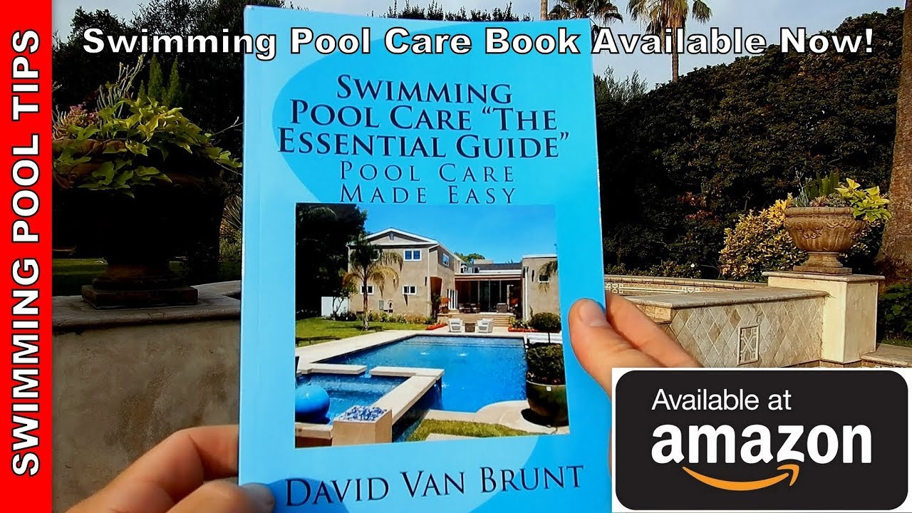 """Zodiac Pool Care Europe swimming pool care """"the essential guide"""" book (print version)"""