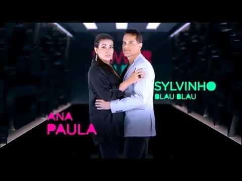 Sylvinho Blau Blau e Ana Paula estão na nova temporada de Power Couple Brasil