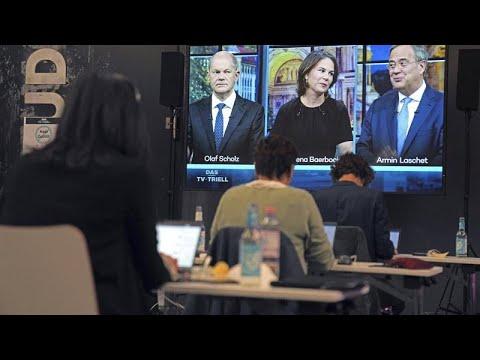 مناظرة ساخنة بين المنافسين الساعين  لخلافة ميركل وشولتز -الديمقراطي الاشتراكي-  يتقدم خلال النقاش…  - نشر قبل 47 دقيقة