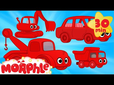 Vehicle Cartoons For Kids With Morphle!