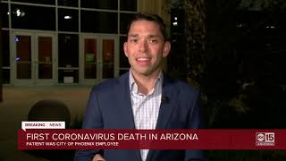 First coronavirus death in Arizona was City of Phoenix employee