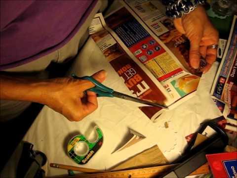Tutorial como reciclar una caja de cereal y hacer una caja - Como forrar una caja con tela ...