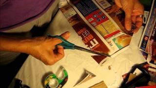 tutorial como reciclar una caja de cereal y hacer una caja-bolsa de regalo.wmv