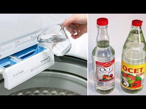 ✅ 6 świetnych zastosowań octu podczas robienia prania. Działa lepiej, niż drogie płyny