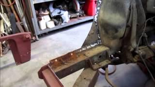 1965 Mustang frame rail repair part 1