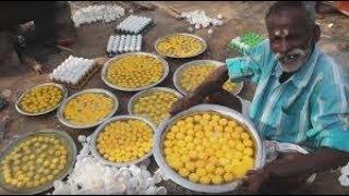 уличная еда 900 яиц калории Завтрак, приготовленный во Вьетнаме