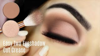 Easy Eye Makeup Using Two Eyeshadows | Monday Makeup Lessons