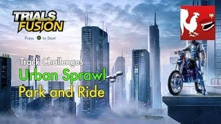 Trials Fusion - Urban Sprawl - Park and Ride Track Challenge