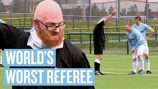 vuclip WORLD'S WORST REFEREE PRANK | Manchester City April Fools