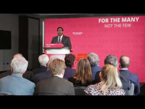 Avinash Persaud explains Labour