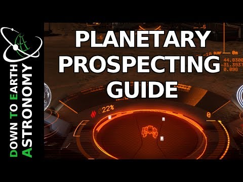 Planetary Prospecting Guide | Elite Dangerous