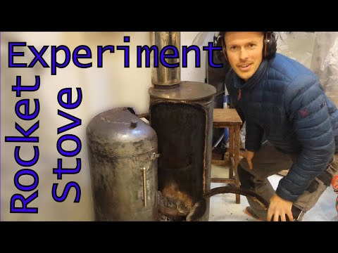 Experimental Wood Stove - Five years on...