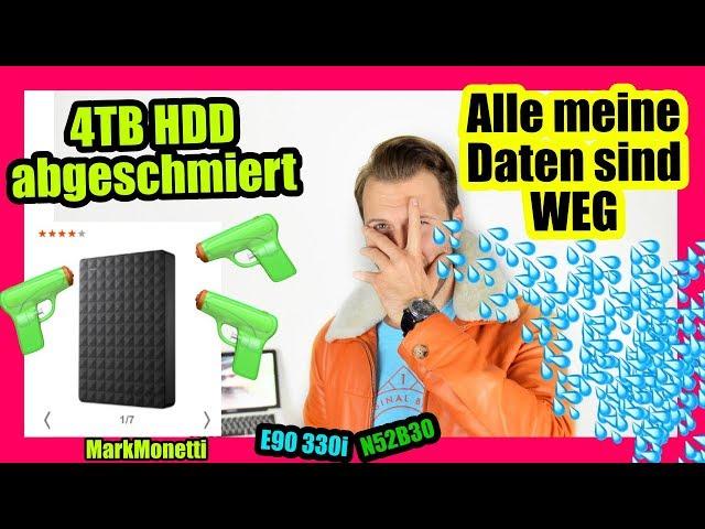 Alle Daten Weg | 4TB HDD is abgeschmiert | Rettungsversuch | MarkMonetti