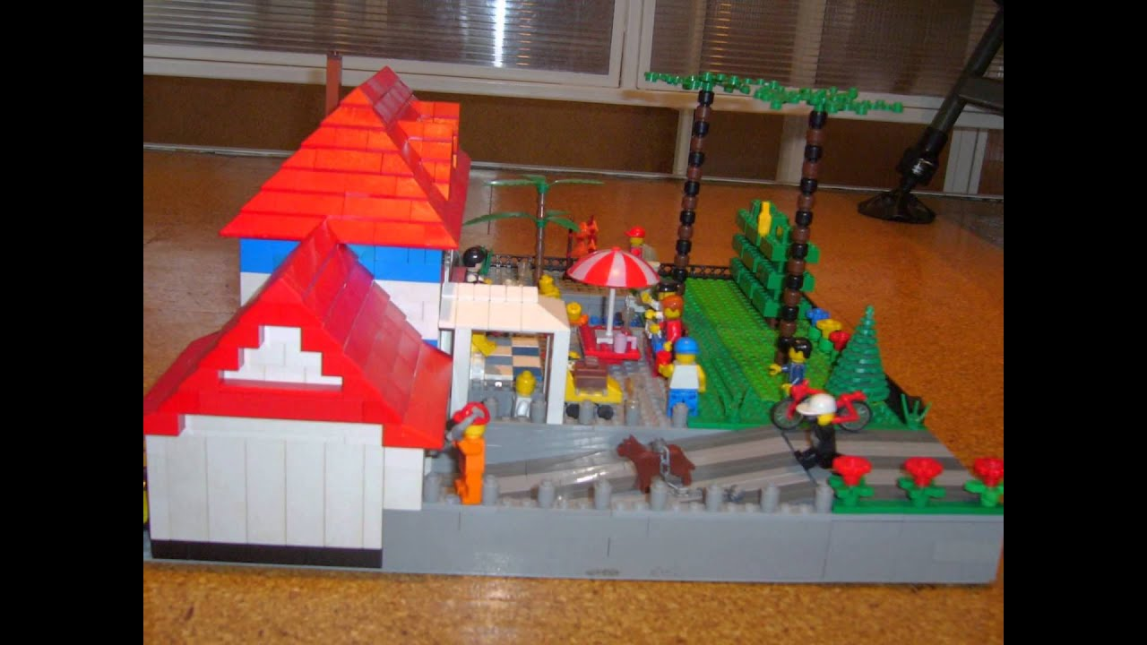 Lego Domydomčekymestá A Autíčka Youtube