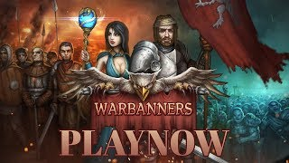 PlayNow: Warbanners | PC Gameplay (Turn Based Tactical RPG Game)