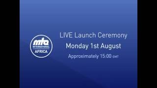 MTA Africa Launch LIVE