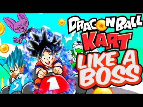 EL JUEGO DRAGON BALL SUPER RACING BOSS | Goku Dragon Ball Kart | ManoloTEVE