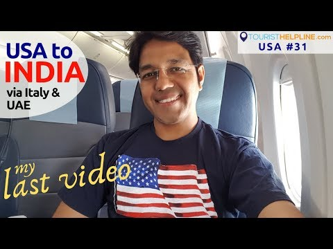 USA to INDIA: US Immigration & Security check experience | R