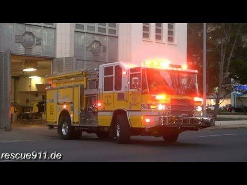 Engine 1 Honolulu Fire Department